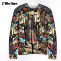 Free shipping 2016 Autumn/Winter Man Woollen Sweater with 3D Tiger Prining DS015