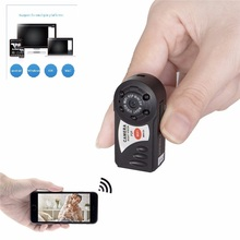 New Mini Q7 Camera 720P Wifi DV DVR Wireless IP Cam Brand New Mini Video Camcorder Recorder Infrared Night Vision Small Camera