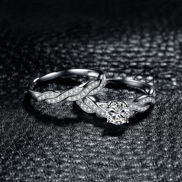 Infinity Diamond CZ Ring