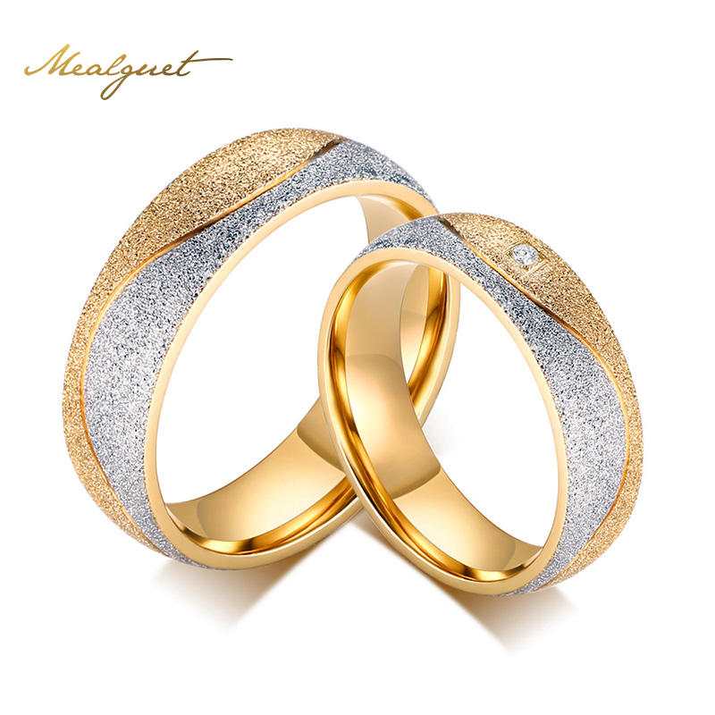 Meaeguet engagement ring for men women wedding rings women for Cz wedding rings for women