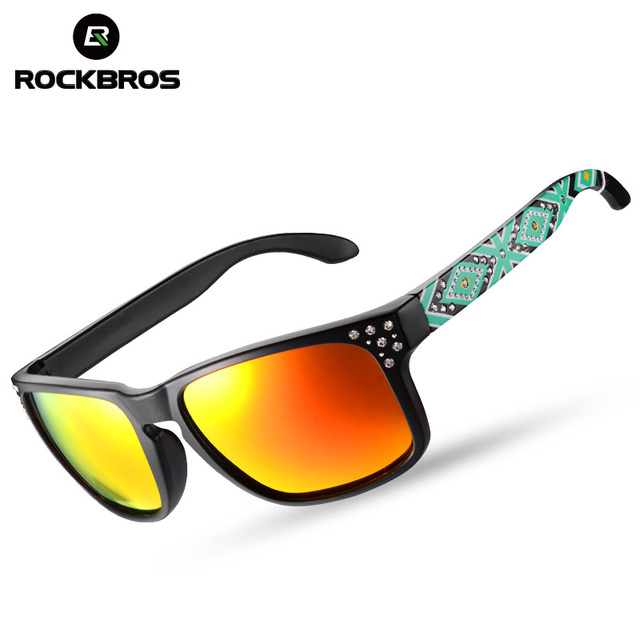 02a41850b6 ROCKBROS 9 Layers Polarized Cycling Glasses Eyewear Men Women Bicycle  Riding Protection Goggles Driving Hiking Sport Sunglasses