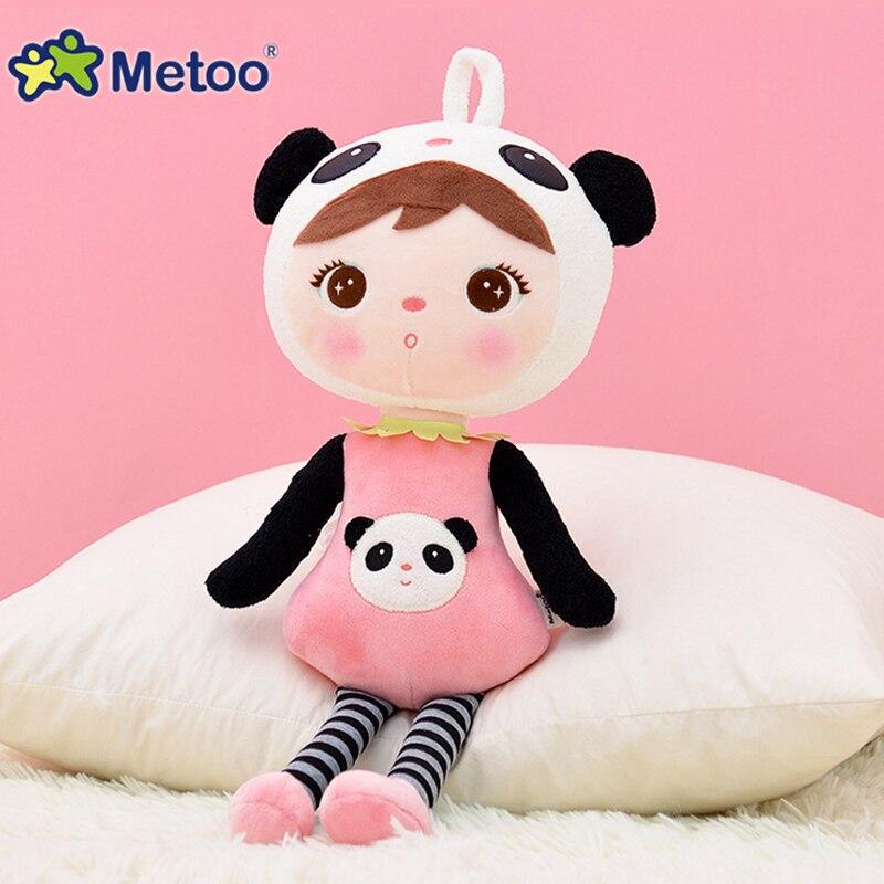 Metoo Детские куклы плюшевые игрушки 45 см keppel панды плюшевые игрушки для детей мягкие Животные детские вещи для мальчиков, детская подарки на ...