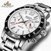 AESOP Fashion Dress Watch Men Sapphire Crystal Quartz Wrist Wristwatch Stainless Steel Male Clock Relogio Masculino