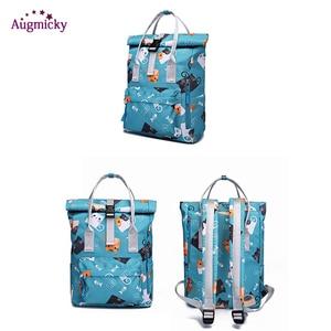 Image 3 - 2019 fashion Large Capacity Backpack Women Preppy School Bags For Teenagers women Nylon Travel Bags Girls LaptopBackpack Mochila