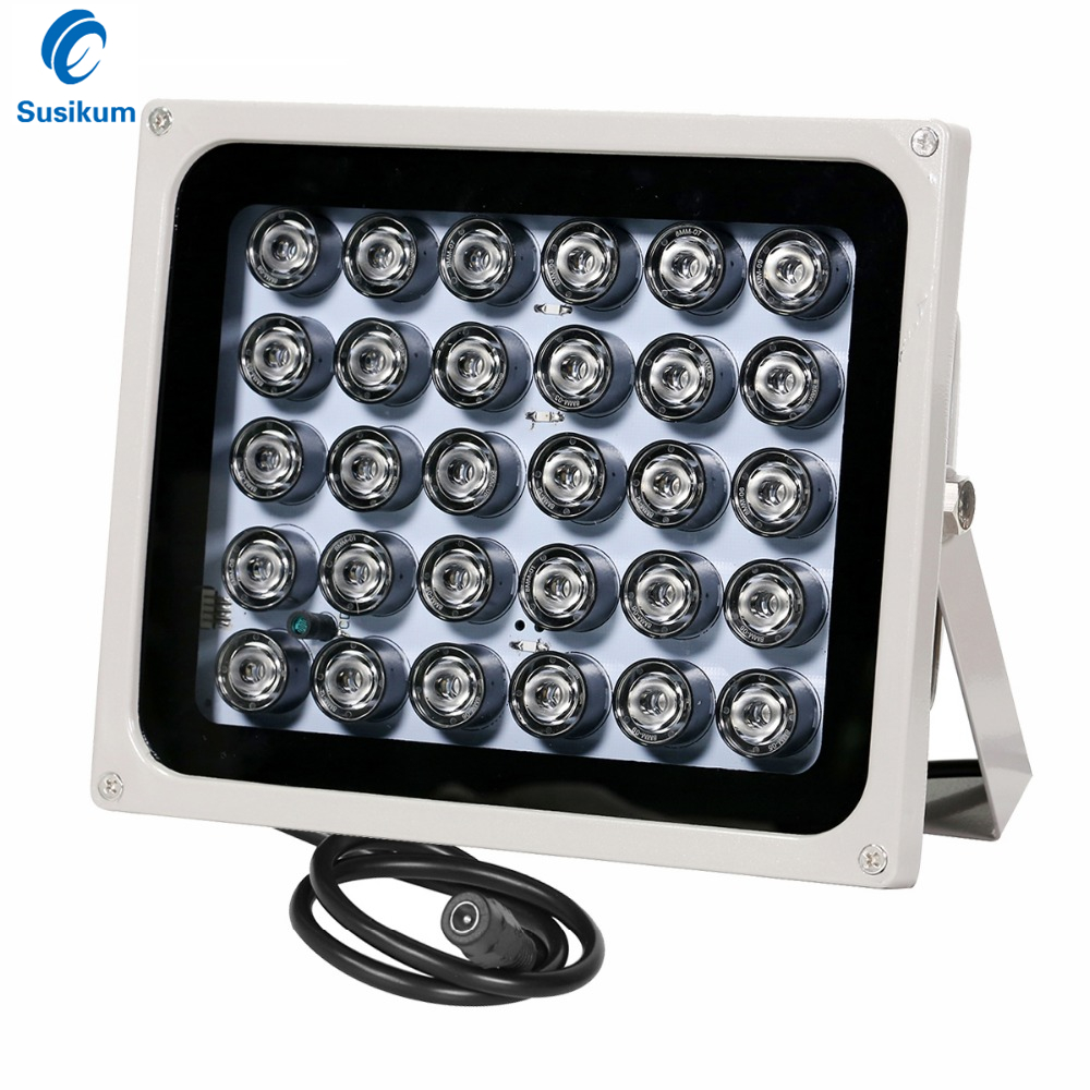 CCTV Fill Light 30Pcs IR Infrared Illuminator night vision 850nm IP65 Metal outdoor Waterproof CCTV Leds For security Camera azishn cctv 12pcs array leds ir illuminator infrared outdoor waterproof night vision cctv fill light for cctv security camera