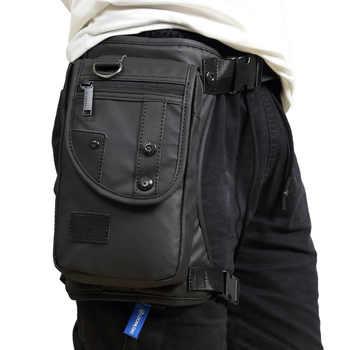 Men Oxford/Nylon/Canvas Drop Leg Bag Hip Belt Bum Waist Fanny Pack Crossbody Shoulder Bag for Travel Tactical Motorcycle Cycling - DISCOUNT ITEM  35% OFF All Category