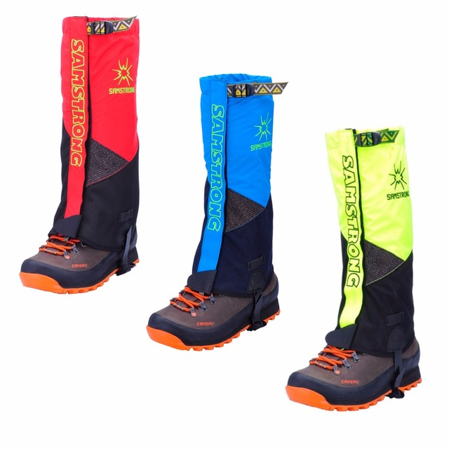 SAMSTRONG 1 Pair Mountain Waterproof Outdoor Snow Legging Gaiters Hiking Climbing Hunting Trekking