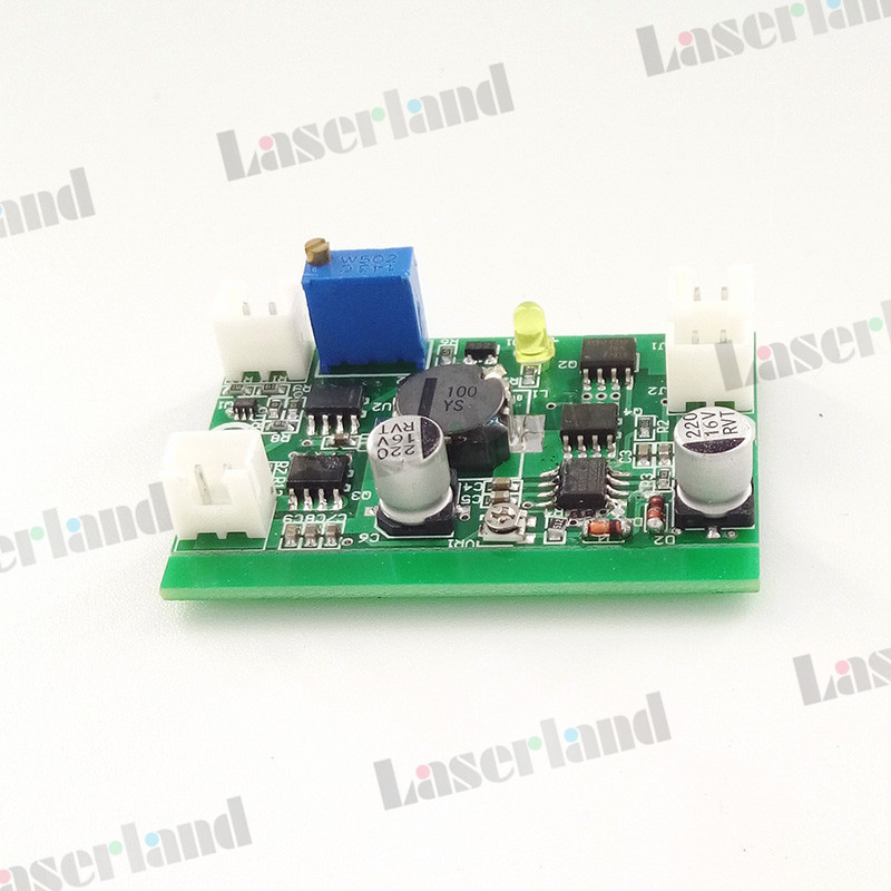 12VDC 3A Power Supply Driver Board for 3.5W 445nm 450nm Blue Laser Diode LD 12vdc ttl 1w 2w blue 445nm 450nm laser diode ld driver power supply stage light