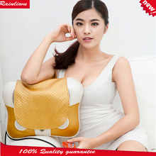 Massage Pillow Cervical Vertebra Massager Kneading Red-light heating Massage Device cape Multi-function Health Care Instrument