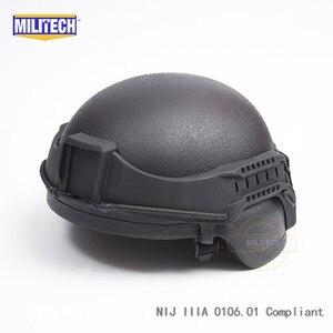 Image 5 - MILITECH NIJ IIIA 3A Tactical Bulletproof Visor for Helmet Ballistic Visor Bullet Proof Mask for ACH PASGT Ballistic Helmet