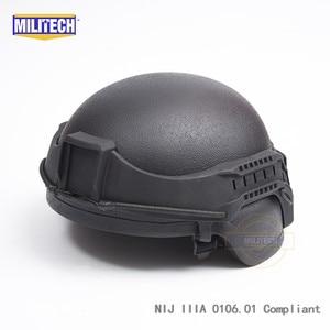 Image 5 - Militech nij iiia 3a 헬멧 탄도 바이저 용 전술 방탄 바이저 ach pasgt 탄도 헬멧 용 방탄 마스크