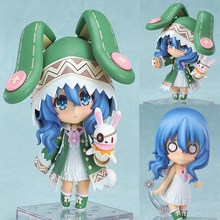 Date A Live 395# action anime figure Yoshino Nendoroid Movable collection cartoon decoration children's toy gift boxed T7921(China)