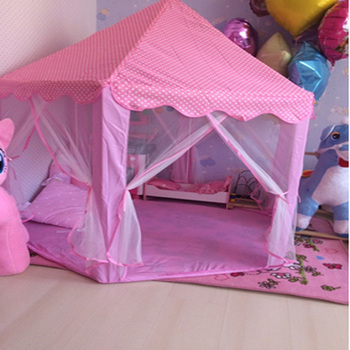 Canopy Beds For Kids | 2018 INS Children Tent Canopy Princess Castle Mosquito Net New Creative Grow Tent Kids Bed Net Children Bedroom Decoration C082