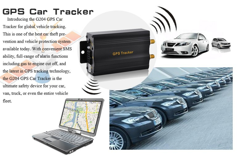 cheap gps car tracker tk 103B tk103 2 track and trace device gps sms micro gps