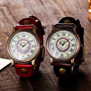 6fb9c07ff50 CCQ Брендовые женские кварцевые наручные часы кожаный ремешок Особенности  ретро римские цифры Для женщин mujer наручные horloges 2018 Новый zegarki  B40