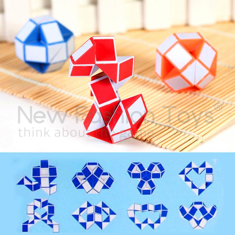 Motivated Random Color Cool 24 Segments Of The Magic Snake Variety Popular Twist Kids Game Transformable Gift Puzzle Puzzles & Games Magic Cubes