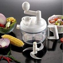 Multifuncional Manual alimentos vegetales Chopper cortadora Maker Slicer para frutas cebolla ajo Coleslaw herramientas de cocina