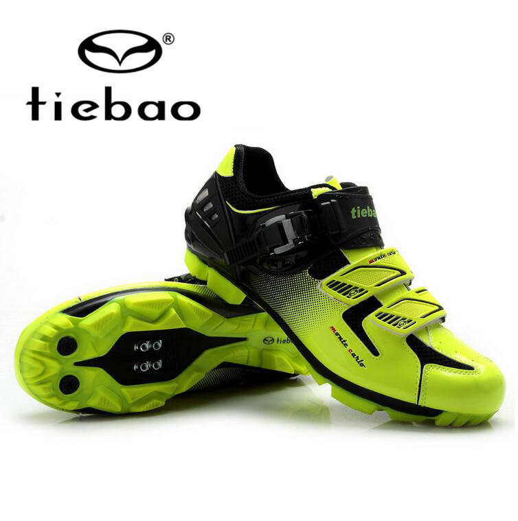 Tiebao Professional MTB Cycling Shoes Men Bike Self-Locking Shoes Breathable Bicycle Athletic Racing Shoes zapatillas ciclismo tiebao professional bike cycling shoes unisex mtb mountain racing shoes waterproof athletic self locking zapatillas de ciclismo
