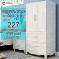 Многоцелевой пластиковый шкаф сервант портативный складной пылезащитный водостойкий одежда хранение Organizador ropa мебель для интерьера