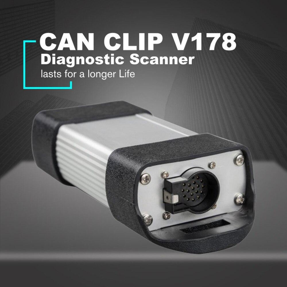 PUÒ CLIP V178 Auto Vehicle Diagnostic Scanner CIPRESSO AN2135SC AN2136SC per Renault Lettore di Codice di OBD Strumento di Full Resistore del Circuito Integrato