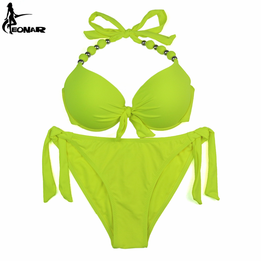 EONAR Bikini 19 Offer Combined Size Swimsuit Push Up Brazilian Bikini Set Bathing Suits Plus Size Swimwear Female XXL 19