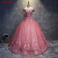Lace Quinceanera Dresses Sweet 16 Dresses For 15 Years Off Shoulder Masquerade Ball Gowns Prom Dresses