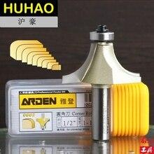 """Enrutador de bordes redondo HSS, broca de enrutador Arden de esquina redonda, 1/4x1/8 1/4 """", vástago, Arden A0602014"""