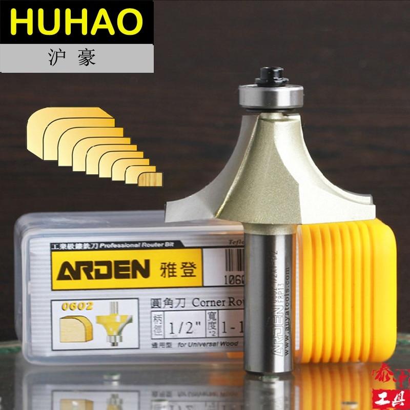 HSS Round Over Edging Router Bits Corner Round-Over Arden Router Bit - 1/4*1/8 - 1/4 Shank - Arden A0602014