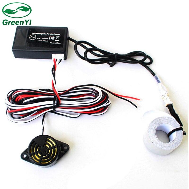GreenYi 10 шт. автоматического электромагнитного парковка Сенсор, легко Установка, нет отверстия сверлить, автомобиль обратный резервный Сенсор s, резервное копирование радар