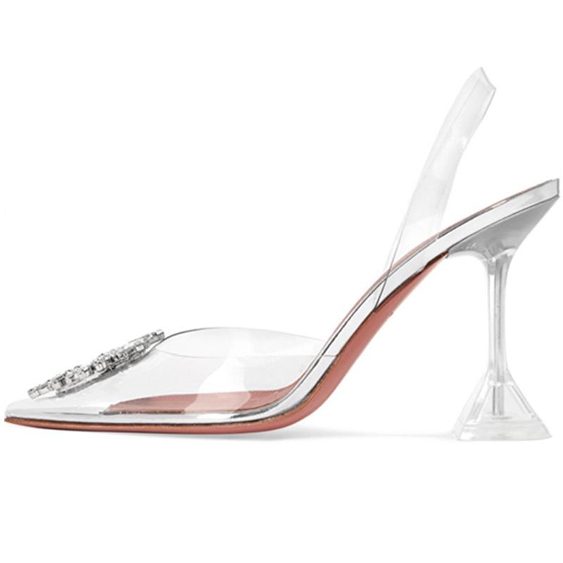 New talon transparent chaussure sexy high heels transparent high heels pumps women shoes scarpe donnaNew talon transparent chaussure sexy high heels transparent high heels pumps women shoes scarpe donna