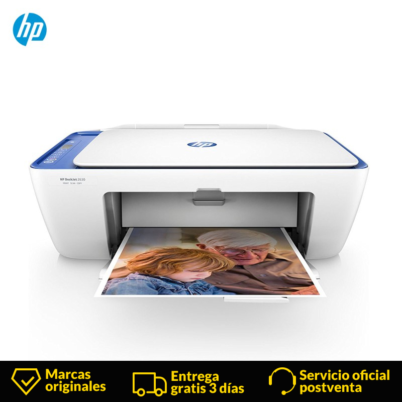 HP DeskJet 2630 Copy Scan All-in-One Color Inkjet Printer for Home and Office,Thermal inkjet,4800 x 1200 DPI,Blue, White, image