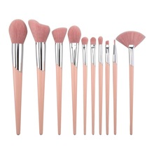 10pcs High Quality Makeup Brush Professional Suit Makeup Liquid Foundation Eye Shadow Eyeliner Brush Makeup Brush Tool Classic