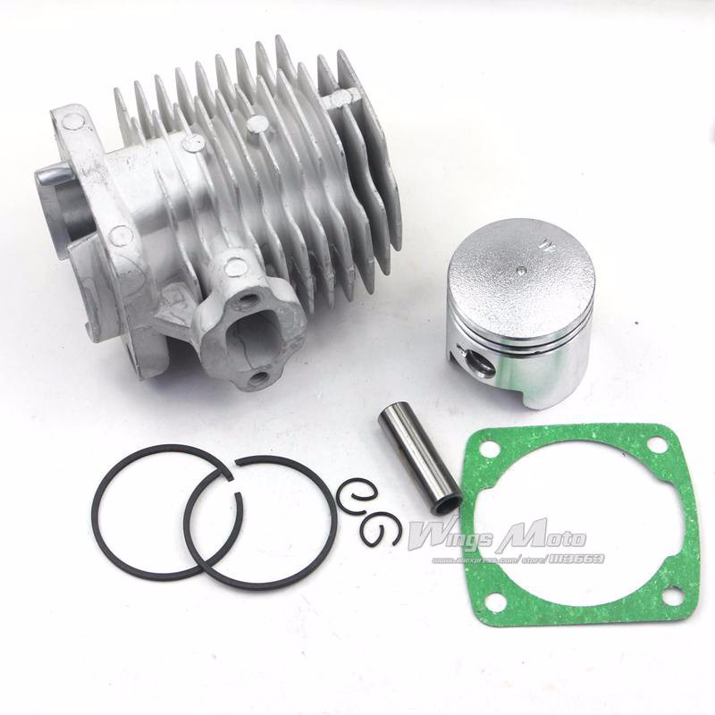 43cc 49cc Pocket Bike Cylinder Kit 44mm Bore for 2 Stroke Gas Scooter Mini  Pocket Bike-in Engines from Automobiles & Motorcycles