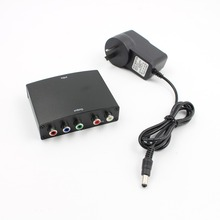 4 К к HDMI к 5RCA RGB компонент YPbPr видео + R/L аудио адаптер конвертер HD ТВ DVD США/Великобритания/ЕС/АС Plug