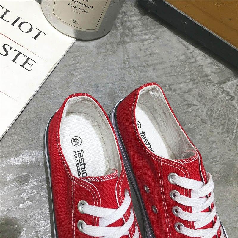Moda Color Los Casual Lona 45 Duce Crear blue Black Mocasines Más Sólido Tamaño 46 Vulcanizados And red Encaje Zapatos Red white white Zapatillas Black Hombres De Plataforma wq8qIY