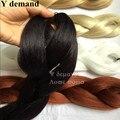"Good Quality 100% Kanekalon Expression Braiding Hair 82"" 165g Synthetic Bulk Hair For Braiding Drop Shipping"