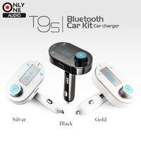 3 Kolory Bezprzewodowy Bluetooth Transmiter FM Samochodowy Odtwarzacz Mp3 Ręce zestaw samochodowy fm modulator usb ładowarka samochodowa do iphone samsung