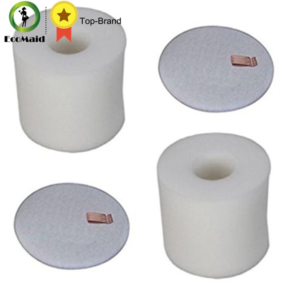 Foam Filter Set for Shark Rotator Vacuum Cleaner Compatible for NV650 NV752 Vacuums Replaces 2 Foams & Felts Filter rotator
