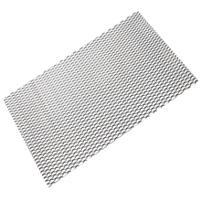 Universal 100*33cm Aluminum Car Vehicle Mesh Grille Net Vent Grill Section