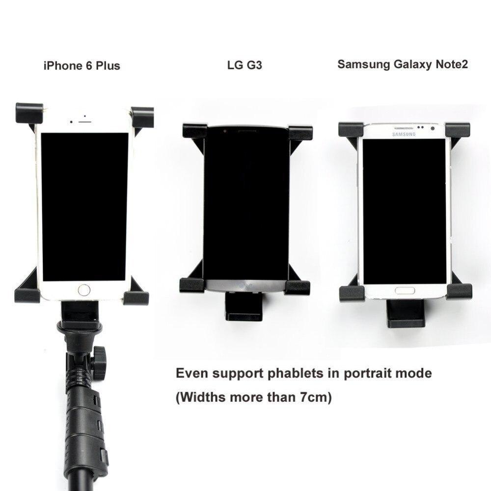 YUNTENG Monopod Öz Bluetooth Uzaktan Kablosuz Tripod Tutucu Kamera - Kamera ve Fotoğraf - Fotoğraf 3