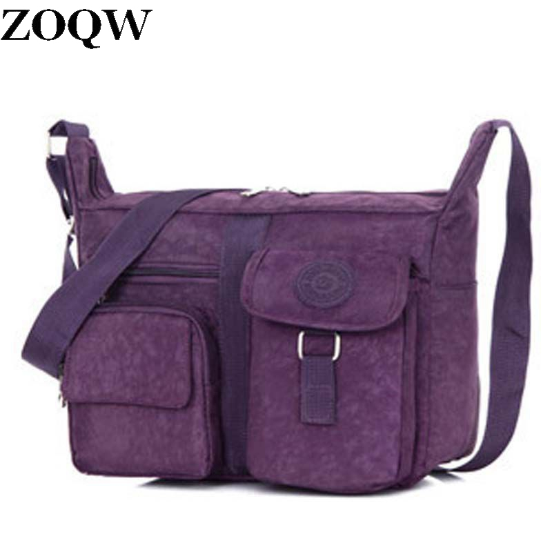 Practical Washed Cloth Women Crossbody Bag Working Shoulder Korean Style Famous Brand Low Dollar Price Casual Gq1055 In Bags From Luggage