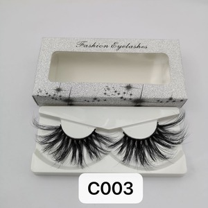 Image 1 - NEW Length 30mm Mink Eyelashes False Eyelashes Crisscross Natural Fake lashes Makeup 3D Mink Lashes Extension Eyelash Beauty