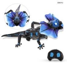 EBOYU Инфракрасный RC ящерица дети инфракрасный пульт дистанционного управления Lizardbot 4 режима RC ящерица детские игрушки