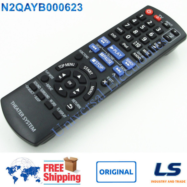 Brand New Original Remote Control N2qayb000623 For Panasonic Home Theater Systems Sc Xh150 Sa