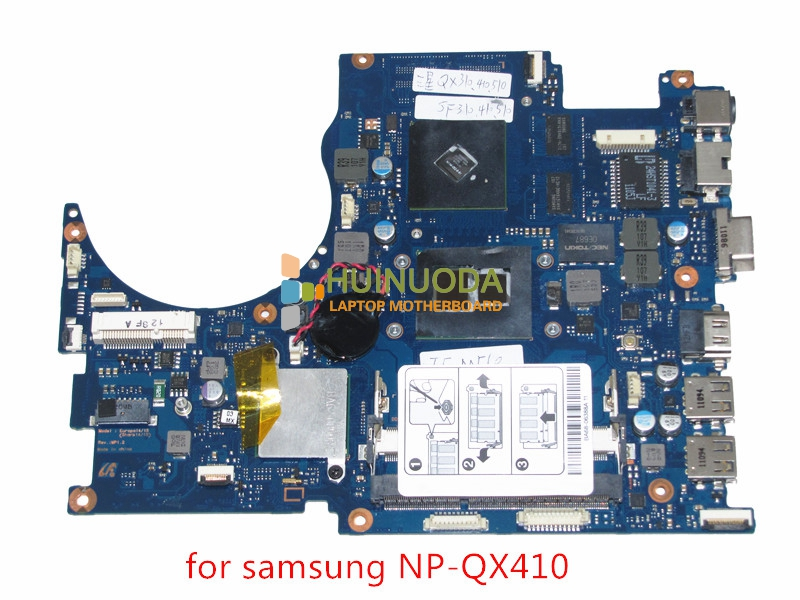 GENUINE BA92-07035B BA92-07035A motherboard for samsung NP-QX410 QX510 laptop main board core i5 with GeForce GT310M