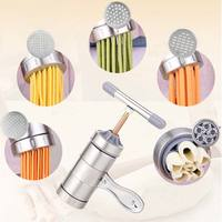 New High Quality Hand Pressure Stainless Steel Manual Pasta Machine Noodle Machine Noodle Maker With 5