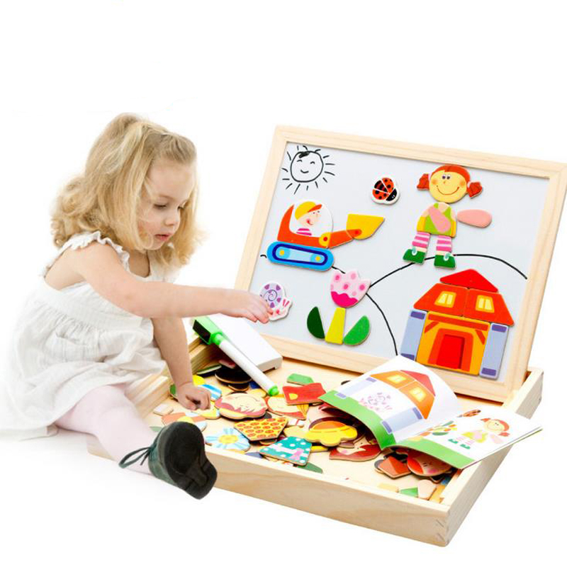 4 Styles Multifunctional Magnetic Board Double face