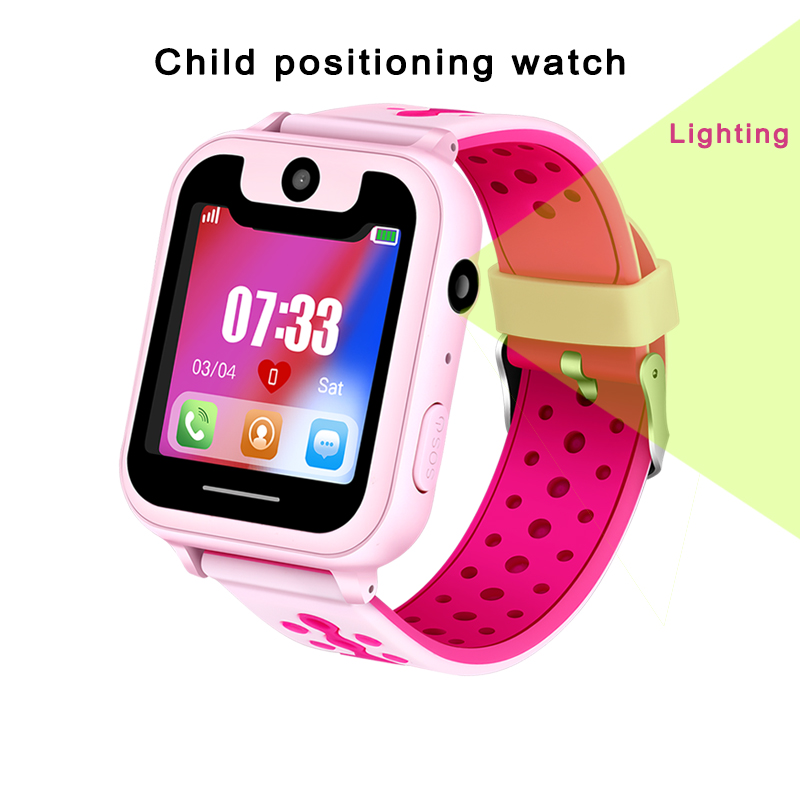 BANGWEI Smart Watch Children's Smart Watch Child Baby Watch SOS Call Location Finder Locator Tracker Anti-lost Display + Box(China)