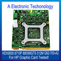Оригинал Для HP Графическая Карта HDX9000 8710 P 8800 МГТС 512 М G92-700-A2 Видеокарта