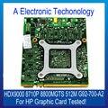 Original Para HP HDX9000 Placa Gráfica Placa De Vídeo De 8710 P 8800 512 M 8800MGTS G92-700-A2